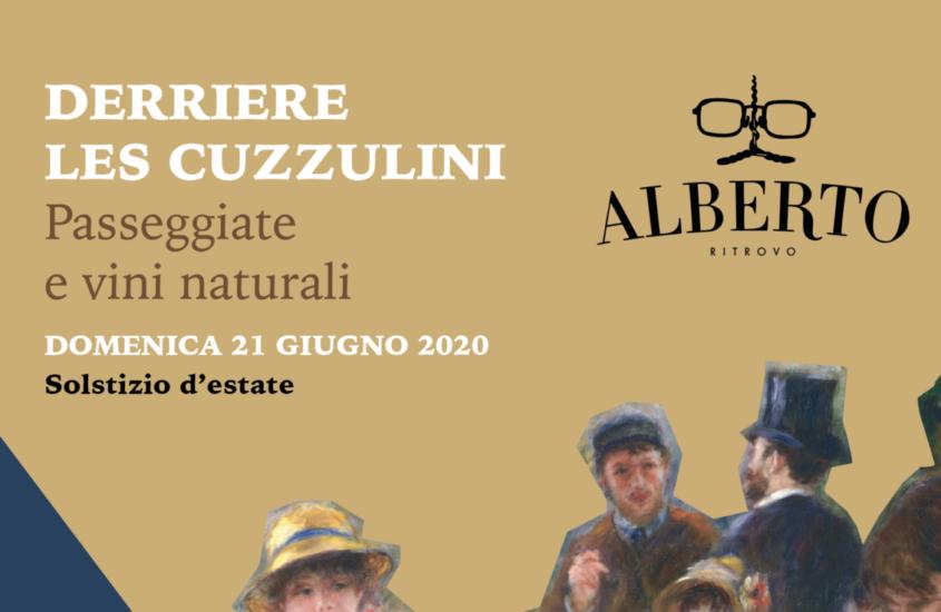 Derrière les cuzzulini  – Passeggiate e vini naturali / Domenica 21 Giugno 2020 – Solstizio d'estate